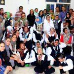 شاگردان قزوین در مرکز مدد جویان مرکز توانبخشی پویا